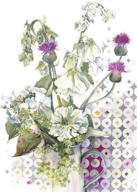 Cybelle Floral Watercolour