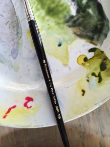 Watercolour Artist Workshop Midlands