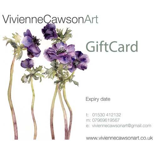 Vivienne Cawson Art GiftCard
