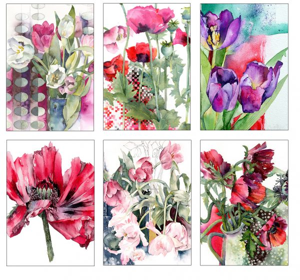 Tulip and Poppy Collection