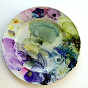 contemporary floral watercolour artist