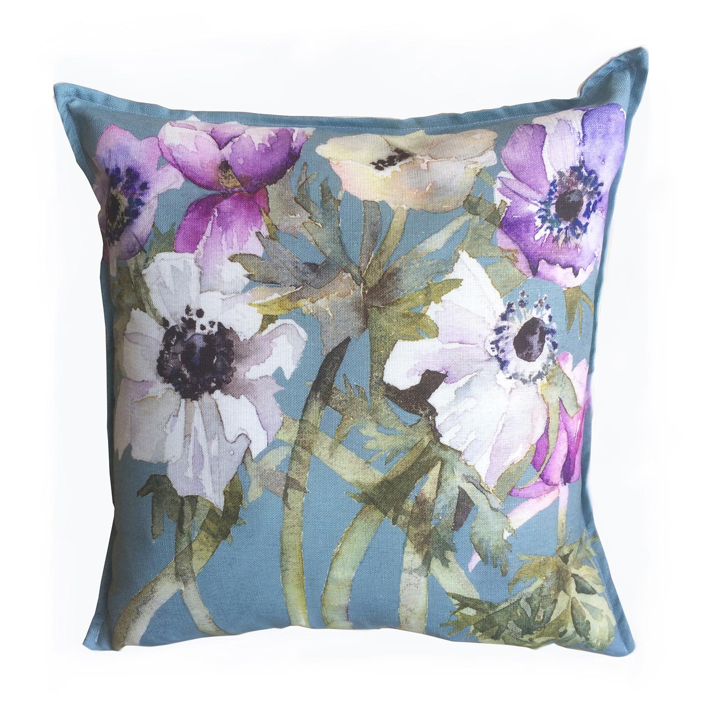 Watercolour Floral Cushions