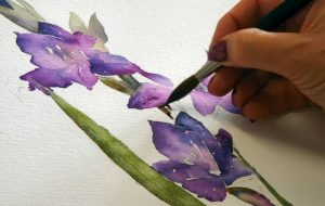 Award Winning Floral Watercolour Artist